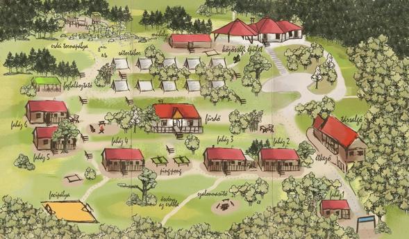 Tábor térkép